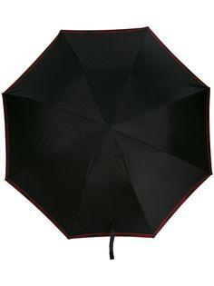 Alexander McQueen зонт с декором Skull на ручке
