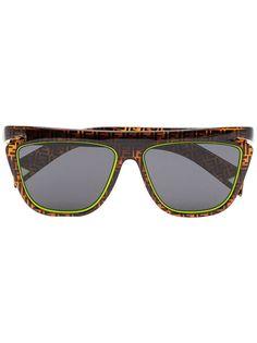 Fendi Eyewear солнцезащитные очки с монограммой