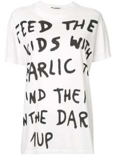 Junya Watanabe Comme des Garçons Pre-Owned футболка 1Up с принтом граффити