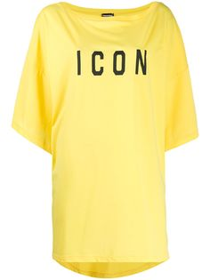 Dsquared2 футболка оверсайз Icon с принтом