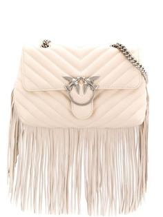 Pinko сумка через плечо Love с бахромой