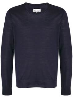 Maison Margiela пуловер с круглым вырезом