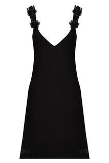 Черная ночная сорочка La Perla