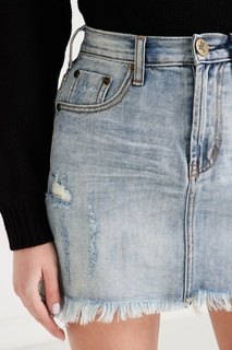 Джинсовая юбка мини One Teaspoon
