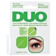 Duo Клей для накладных ресниц Brush On Clear Adhesive 5 г White/ Clear