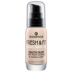 Essence Тональный крем Fresh & Fit Awake Make Up, 30 мл, оттенок: 10 fresh ivory