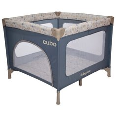 Манеж Baby Care Cubo синий