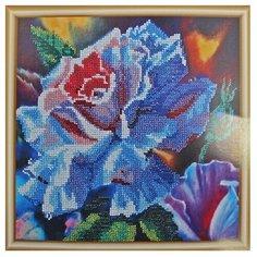 Hobby & Pro Набор для вышивания бисером Волшебная роза 25 х 25 см (БН-3118)
