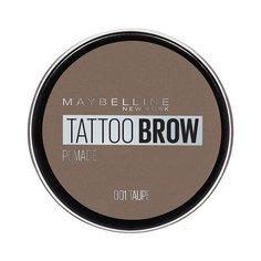 Maybelline Стойкая помада для бровей Tattoo Brow Pomade 01, серо-коричневый