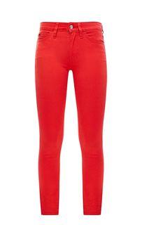 Зауженные брюки красного цвета CKJ 011 Calvin Klein Jeans