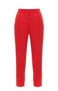Зауженные брюки красного цвета Armani Exchange