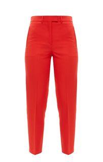 Зауженные брюки красного цвета Calvin Klein