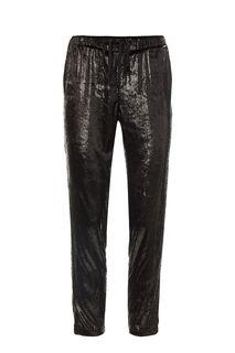 Черные зауженные брюки с карманами Liu Jo
