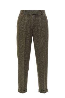 Зауженные брюки цвета хаки Urban Tiger