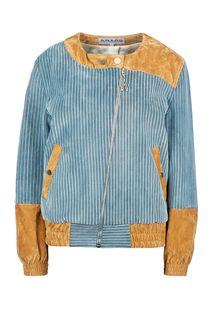 Хлопковая куртка с контрастными вставками A.W.A.R.D