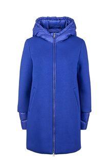 Синяя куртка с трикотажными вставками United Colors of Benetton