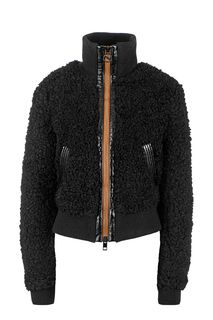 Черная куртка на молнии Diesel