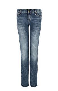 Зауженные джинсы с заломами Jasmin Mustang