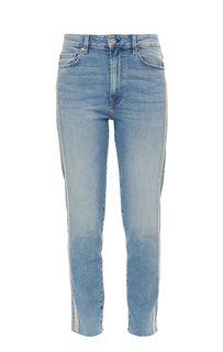 Синие джинсы с высокой посадкой The It Girl Guess