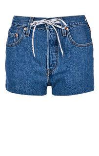 Джинсовые шорты с высокой посадкой 501® Levis®