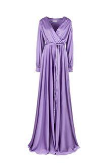 Длинное сиреневое платье в вечернем стиле Alisia HIT