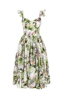 Платье-сарафан с оборками на бретелях Alisia HIT