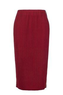 Трикотажная юбка с декоративными цепочками Selvaggio