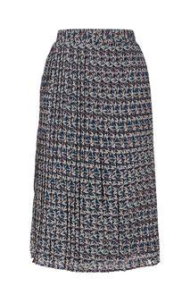 Плиссированная юбка средней длины Pepe Jeans