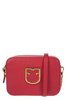 Маленькая кожаная сумка с плечевым ремнем Brava Furla