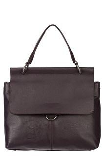 Кожаная сумка с двумя плечевыми ремнями Afina