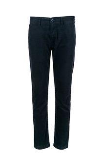 Синие вельветовые брюки Lee