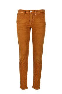 Коричневые вельветовые брюки Pepe Jeans
