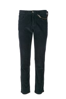 Синие вельветовые брюки Tom Tailor