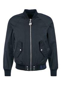 Однотонная куртка бомбер с карманами Diesel