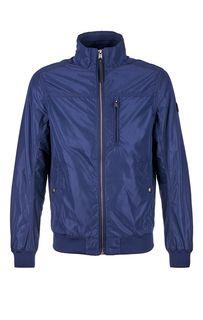 Синяя куртка-бомбер Tom Tailor