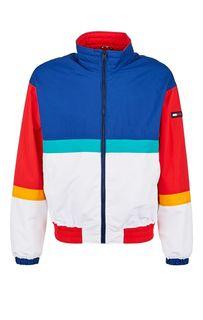 Разноцветная куртка-бомбер с высоким воротом Tommy Jeans