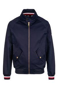 Легкая куртка-бомбер из хлопка Tommy Hilfiger