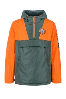 Куртка-анорак с контрастными вставками Tom Tailor