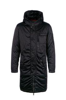 Удлиненная демисезонная куртка с капюшоном La Biali