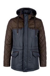 Удлиненная стеганая куртка с капюшоном Bazioni