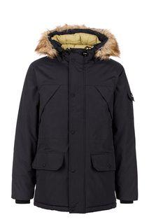 Куртка черного цвета с капюшоном Penfield