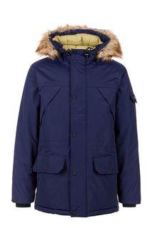 Куртка синего цвета с капюшоном Penfield