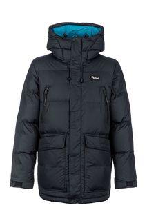 Черная куртка с капюшоном Penfield