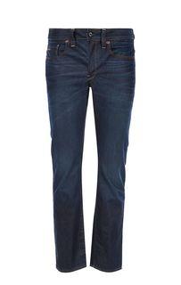 Слегка зауженные джинсы на болтах 3301 G Star RAW