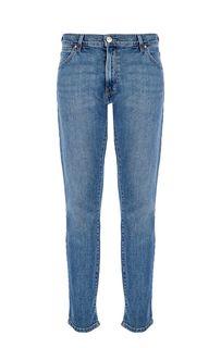 Зауженные синие джинсы Larston Wrangler