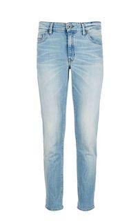 Зауженные джинсы с заломами Sjobo Marc Opolo