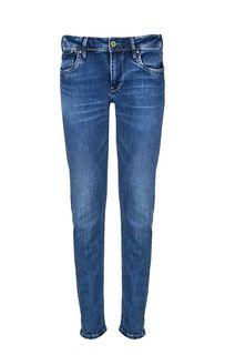 Зауженные синие джинсы с низкой посадкой Hatch Pepe Jeans