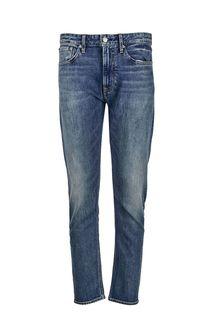 Зауженные джинсы с потертостями CKJ 056 Calvin Klein Jeans