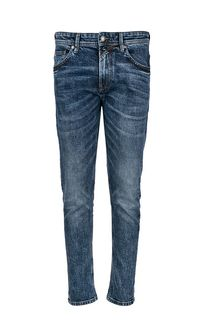 Cиние зауженные джинсы с низкой посадкой Conroy Tom Tailor Denim