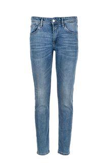 Зауженные синие джинсы с низкой посадкой Piers Tom Tailor Denim